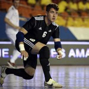 Pavlos Wiegels , DFB Futsal Torwart , Physiotherapie Glück